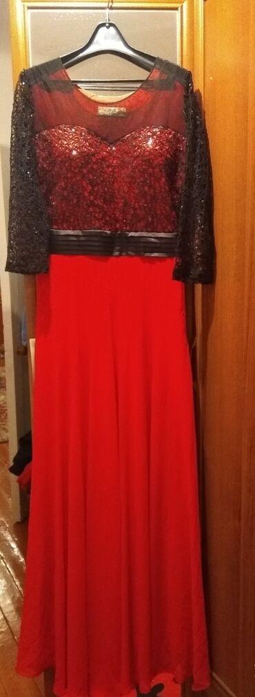 Платья - Красный - Бишкек: Платье Вечернее M