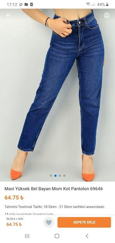 Jeans şalvar satılır.yenidir.20azn