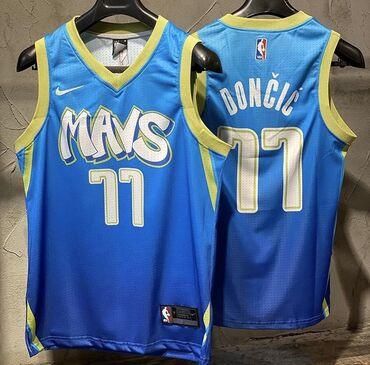 Спортивная форма - Бишкек: Баскетбольная джерси, Даллас, Лука Дончич. Новая, в упаковке. В