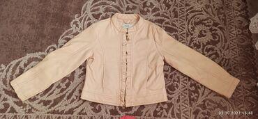 10282 elan | UŞAQ DÜNYASI: Кожаная куртка,розовая на 4-5 лет/110 см