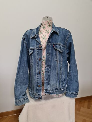 Levi - Srbija: Original Levis teksas jakna, kao nova. Velicina XL
