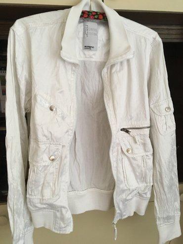 Original Sorbino lagana bela jaknica, idealno za proleće i jesen