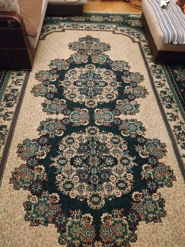 Ev üçün dekor - Azərbaycan: Xalça. Olculer: eni 3, uzunlugu 5 metr. Yaxsi veziyyetdedir