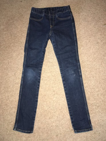 H&M джинсовые штаны, состояние отличное, размер: 7-8 лет