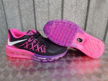 Nike zenske patike-air max 2018-ljubicasto-roze-prelepe! Prelep model! - Nis