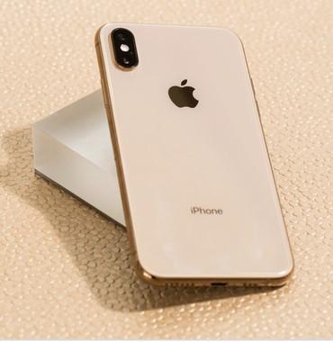 Iphone xs max gold ideal vezyetde birdene problemi yoxdu giymet 1300