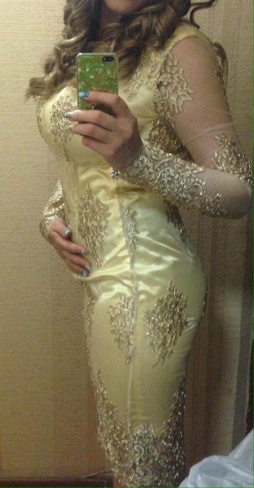 Платье сшито на заказ в единственном в Бишкек