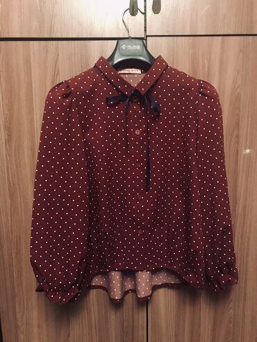 босоножки в горошек в Кыргызстан: Красивая блузка в горошек 42-44р