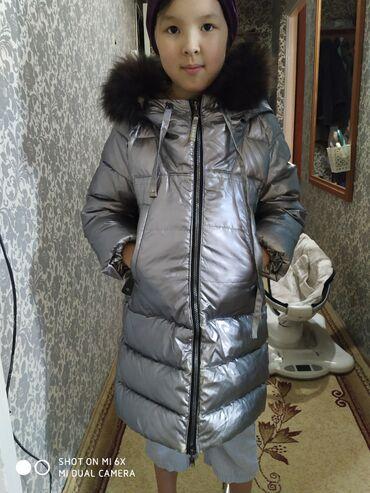 Продаю зимнюю куртку 7,8 лет за 1000 сом. Куртка двухсторонняя