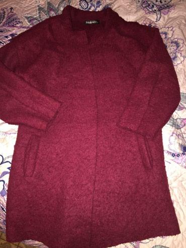 Продаю пальто, бордового цвета, размер в Бишкек