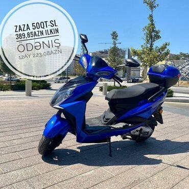 Digər motosiklet və mopedlər - Azərbaycan: Zaza  50 QT-ZS 50 kubdur. Prava ve nomre dusmur. Avtomatdir, Benzinle