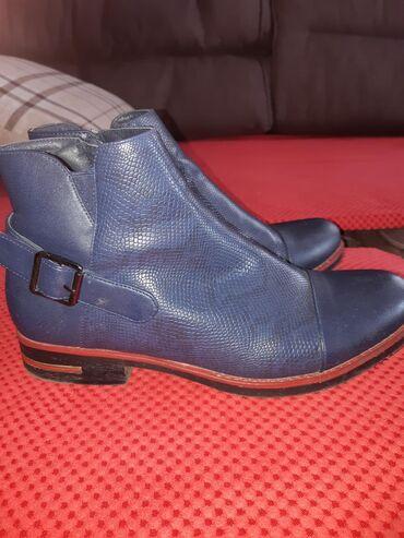 Farmerke-legen-teget-duboke - Srbija: Zenske duboke cipele.Obuvene jednom.39br