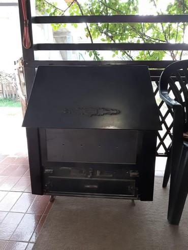 Ostalo za kuću | Obrenovac: Kamin peć, stara 3 godine, ima inox ploču umesto stakla(ima i rezervna
