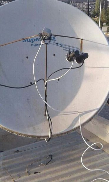 Sumqayıt şəhərində Krosna Krosnu Peyk Anten Təmir Quraşdırılma