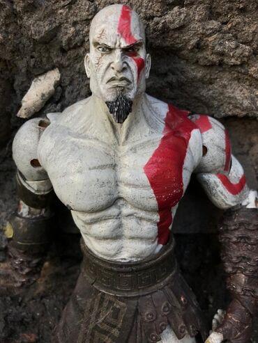 Мощная фигурка Кратоса бог войныТолько для фэнов игры God of war и для