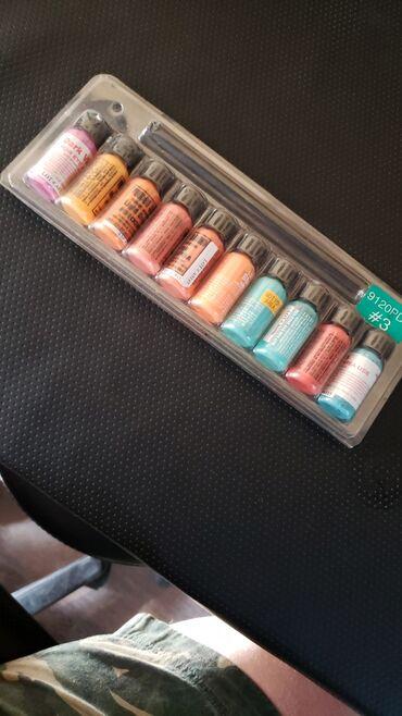Краска для тату USA набор 10 цветов 3000сом