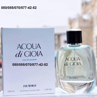 Bakı şəhərində Giorgio Armani Acqua Di Gioia Natural Sprey Eau De Parfum dubay