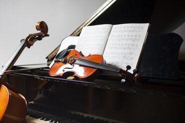 Уроки игры на фортепиано, Уроки игры на скрипке | С выездом на дом
