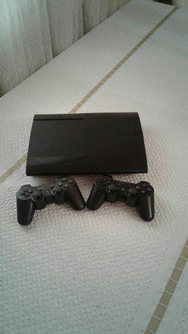 Bakı şəhərində Sony playstation 3 Super slim..Ev seraitinde iwlenib..Klub mali