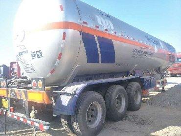 Другой транспорт - Состояние: Б/у - Бишкек: Полуприцеп для перевозки жидкого газаТип:ПолуприцепМатериал:Сталь