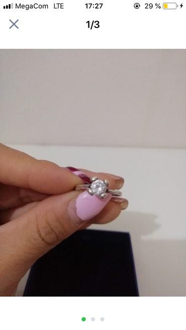 Кольцо серебряное размер 16 в Бишкек
