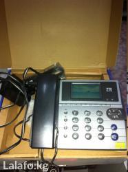 Телефонный аппарат от фирмы Сапатком, б/у, торг уместен. в Бишкек