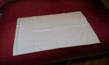 Jastušnice, bele platnene, dimenzija 86x56cm i 64x44cm imam ih oko - Novi Sad