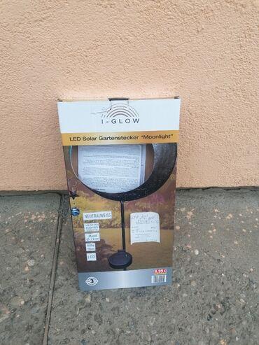 I-glow solarna led lampa, nova sa kutijom i uputstvom. Trenutno imam 2