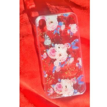 чехлы книжки для телефонов в Кыргызстан: Чехол на айфон с цветочными принтамизарядные устройства, переходник