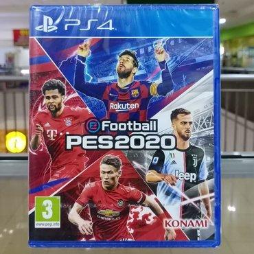 Ps4 üçün Pes 2020 oyunu  Tam bağlı salafanda orginal Playstation 4 sli
