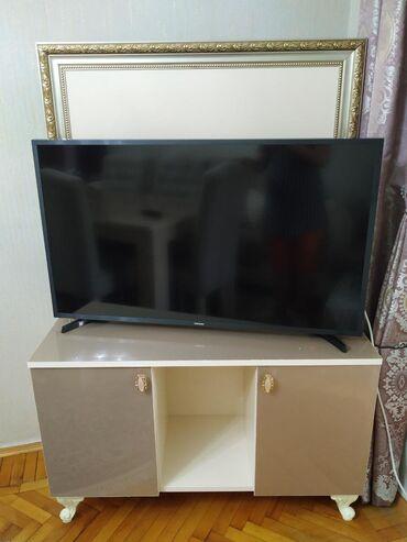 Televizor altliqi satilir.Qiymeti 120azndir ve tezedir