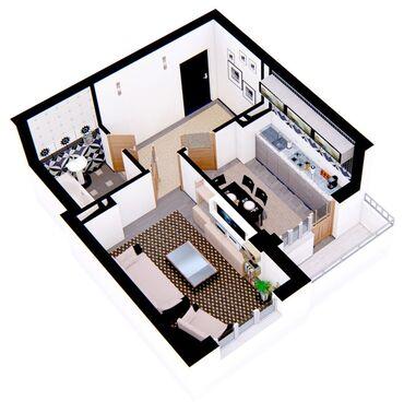 Продаются одно комнатных квартира, все коммуникации центральный