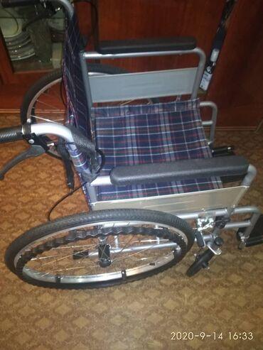 Инвалидные коляски - Кыргызстан: Инвалидная коляска. Находится в г.Токмок