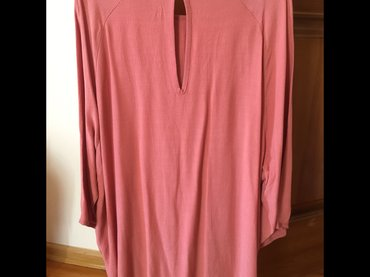 свободная рубашка в Кыргызстан: Новая туника mexx цвета пыльной розы,размер m,но подойдёт для