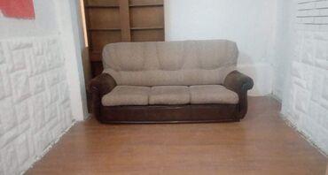 Garniture - Srbija: Trosed na razvlacenje Eko Koza Stof Cena 80€.Nalazimo se u Novom Sadu
