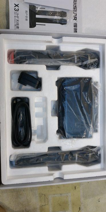 Студийные микрофоны в Кыргызстан: Беспроводной микрофон, в комплекте 2шт. Новый