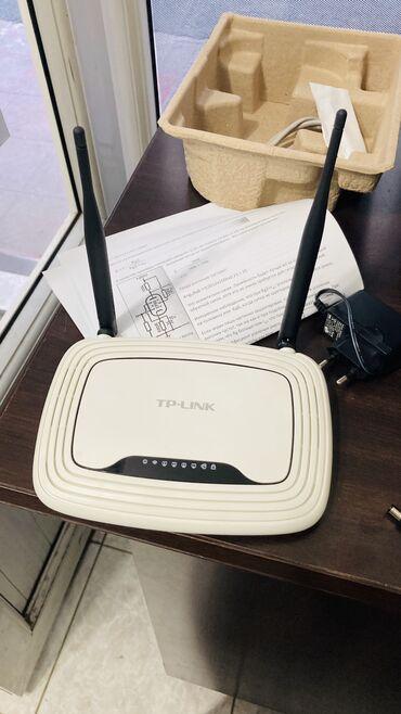 - Azərbaycan: 2 antenali Tplink router modem satilir.1 hefte istifade edilib.yeniden