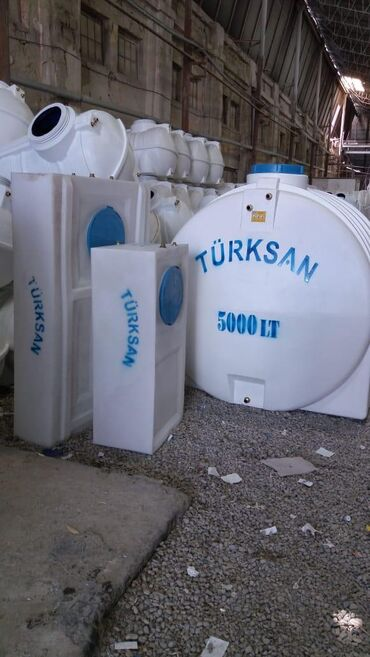 Türksan şirkətinin poleitilendən hazırlanmış su çənləri!