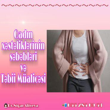 Qadin salon - Azərbaycan: QADIN XƏSTƏLİKLƏRİStatistikanın hesablamalarına görə qadınların 60%-i