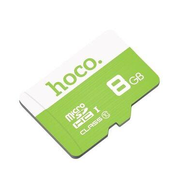 карты памяти uhs ii u3 для видеорегистратора в Кыргызстан: Micro SD карта HOCO 8Gb. Абсолютно новый, даже не вставляли. Купили по