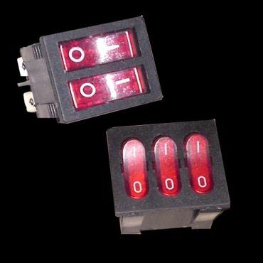 Клавишамагазин 220volt.kgМалогабаритный Переключатель на два либо три
