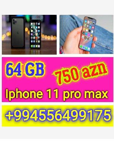 iphone 1 almaq - Azərbaycan: Iphone 11 pro max Dubai original 64 GB yaddas Almaq istiyen olsa