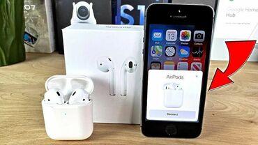 наушники air в Азербайджан: Apple Airpods 2 wirelles Airpods 2 wirelles 1:1 premium class -40azn