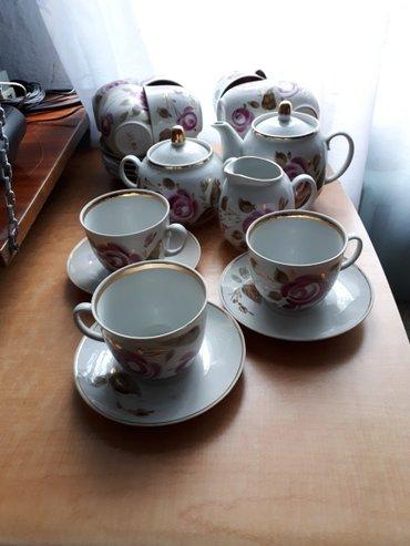 Красивый чайный сервиз 26 предметов в Бишкек