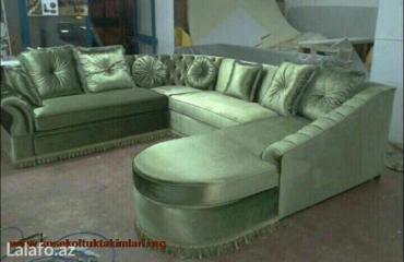Künc divanlari sifarişle 10-15 qüne yiqilir. Bir metresi üçün qiymetle в Баку
