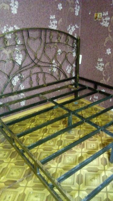 Продается. железная. кровать разборная холодная ковка ручной. работы в Бишкек