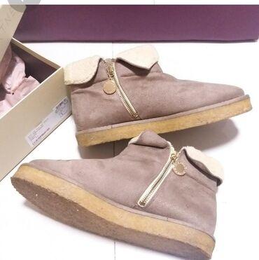 Bez torbica - Srbija: Stella McCartney original kratke čizmice u prljavo roze boji, veličina