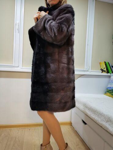 свадебное платье размер 46 48 в Кыргызстан: Норковая шуба Annabella Италия! Размер 46-48