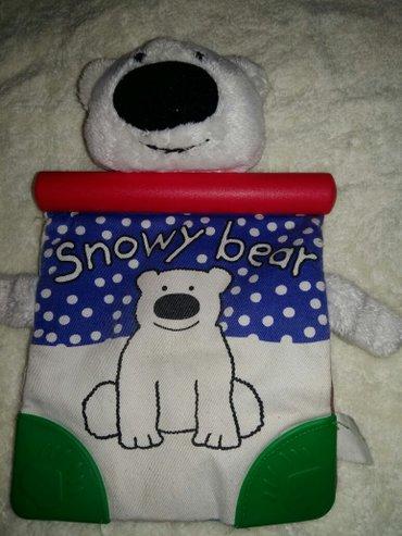 мягкая книжка-медвежонок в Бишкек