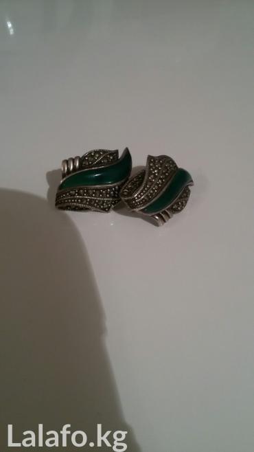 Продаю серебрянные серьги in Бишкек